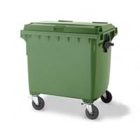 Контейнер для сбора, хранения и транспортировки  медицинских отходов (внутри корпусный/межкорпусной) на колесах, цвет желтый,красный.